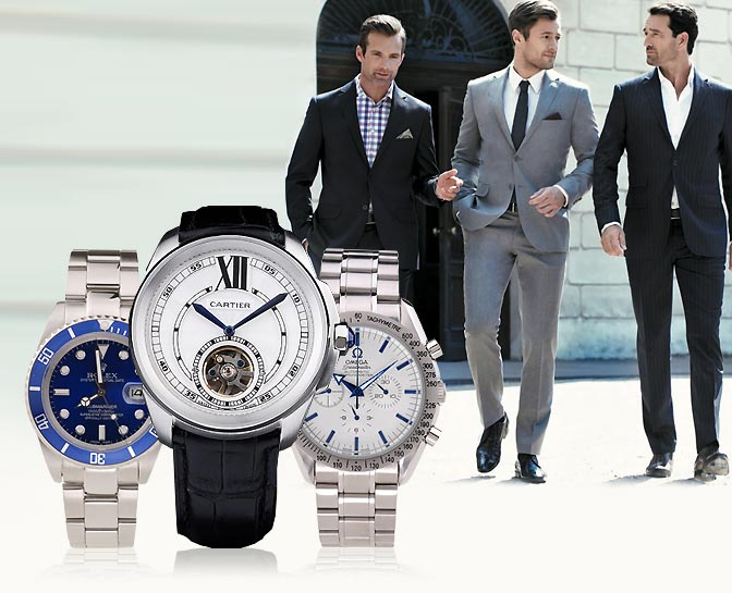 imitation luxary mens watches